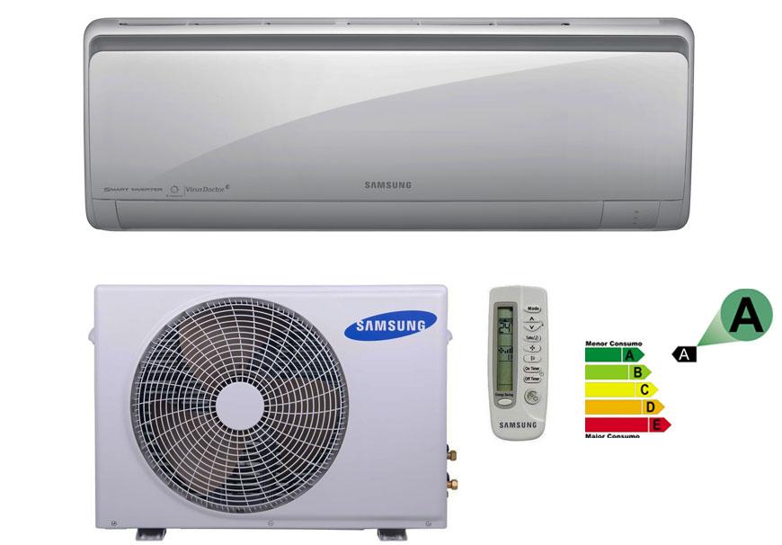 eda035ea7 Ar Condicionado Split Hi-wall Samsung Smart Inverter 18000 Btus ...